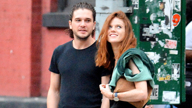 Real Life Game Of Thrones Couple Kit Harington And Rose