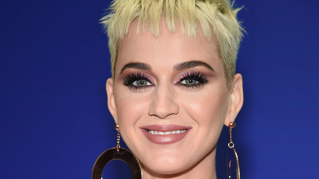 Katy Perrys Hot Pink Hair Color