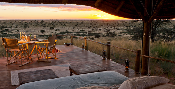 South Africa's Safari Secrets - the Kalahari landscape