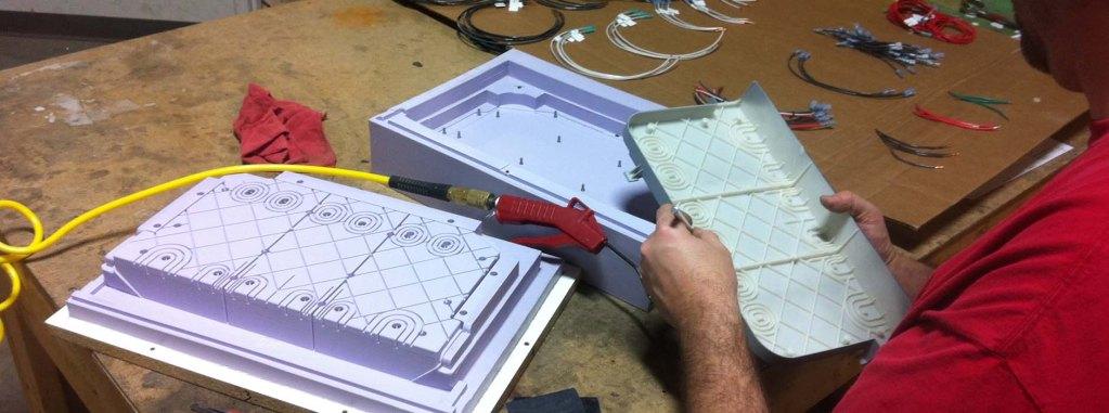 Prototyping capabilities at Creative Design Network.