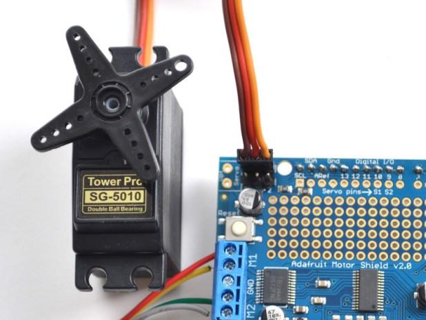 Arduino motor shield code servo automotivegarage
