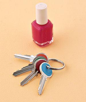 Nailpolish Keys