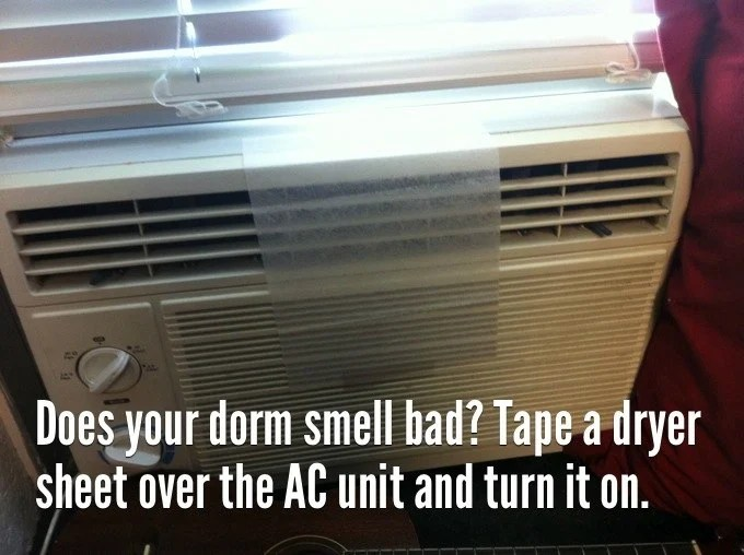 86 dorm smell bad
