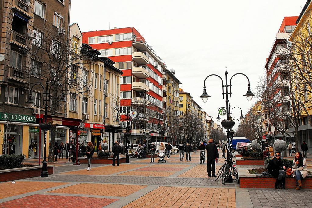 Sofia, Bulgaria, Vitosha Boul