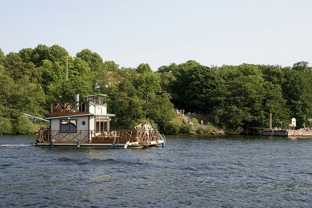 Sauna Boat