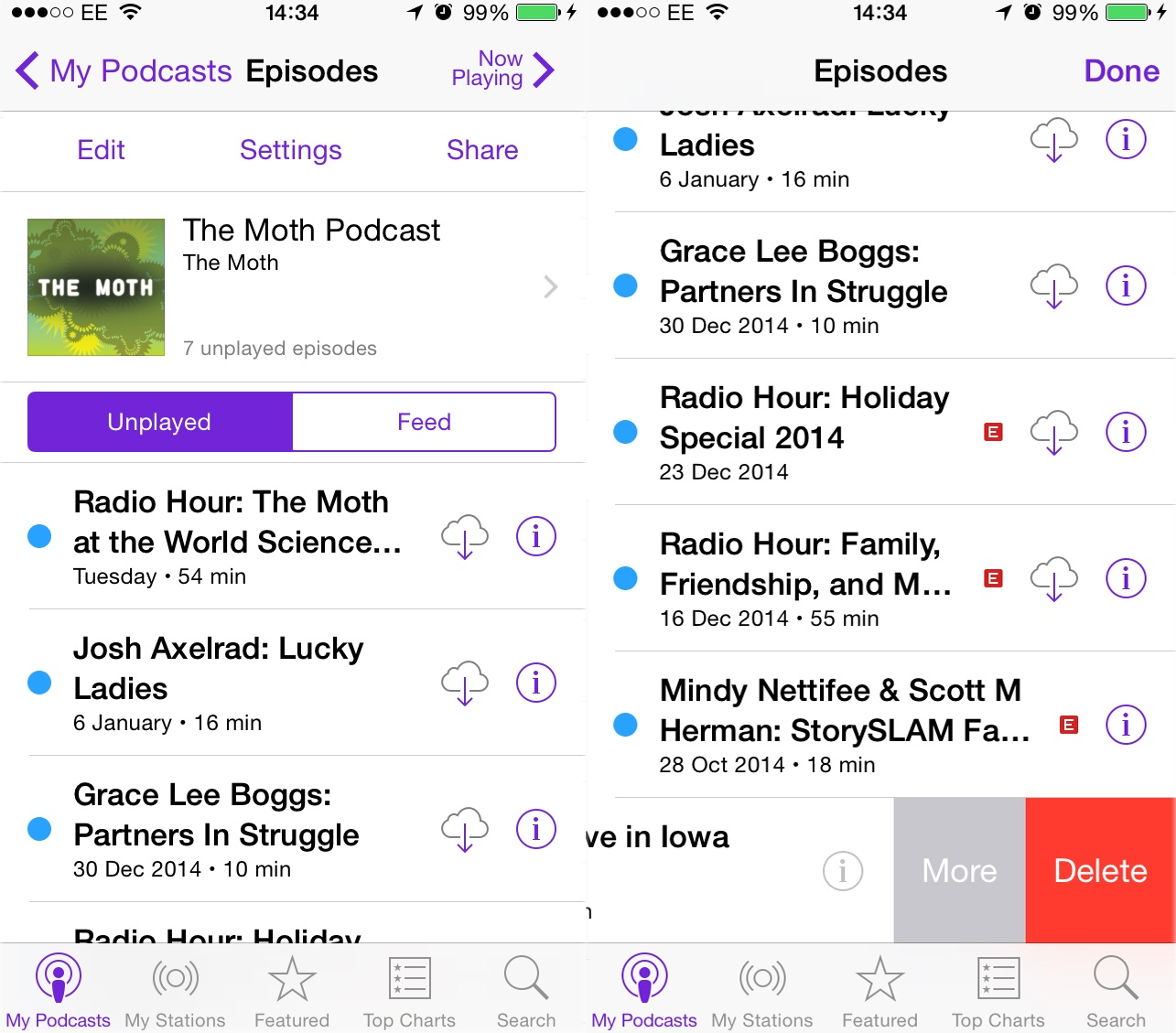 podcasts lifehack