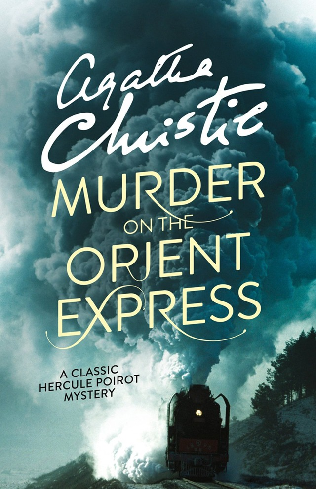 Murder on the Orient Express by Agatha Christie (image credit HarperMasterpiece) VIA Amazon.com