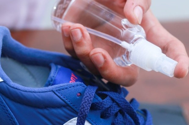 Vodka for sneakers