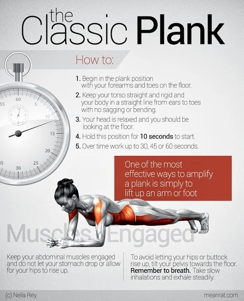 Planking Look I And Plank What I What When I Look Actually