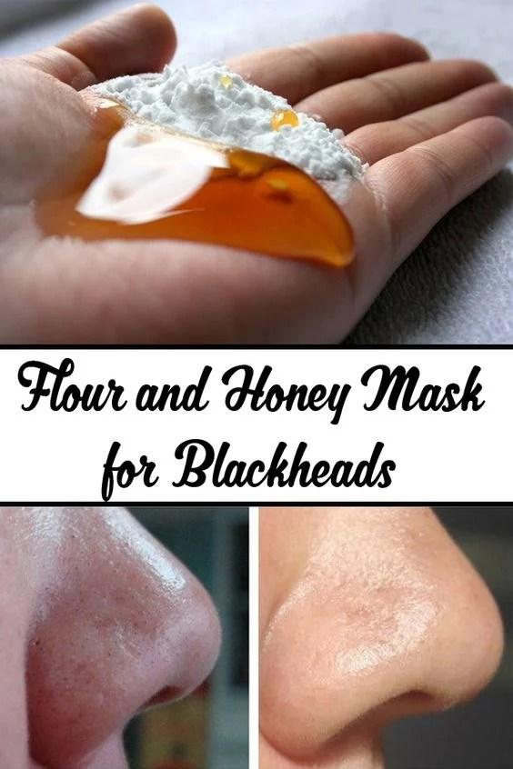 flour and honey