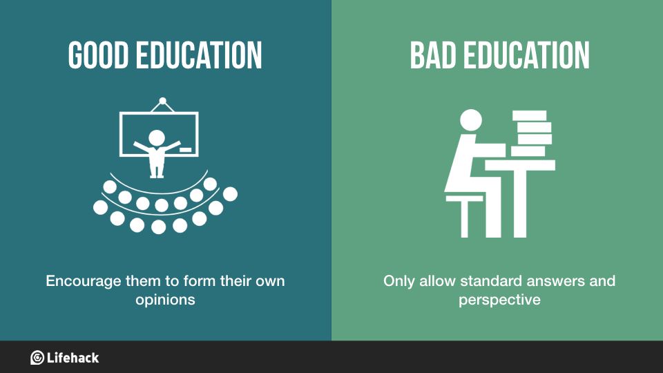 8 Key Differences Between Good Education And Bad Education