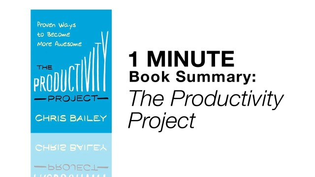 the productivity project book cover