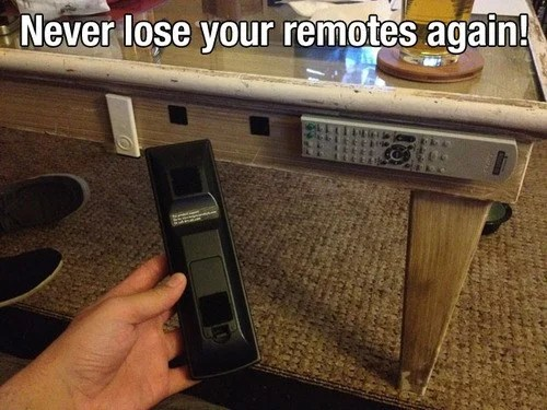Never lose your remotes again