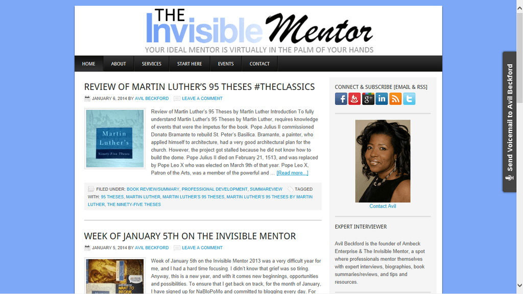 invisible mentor new