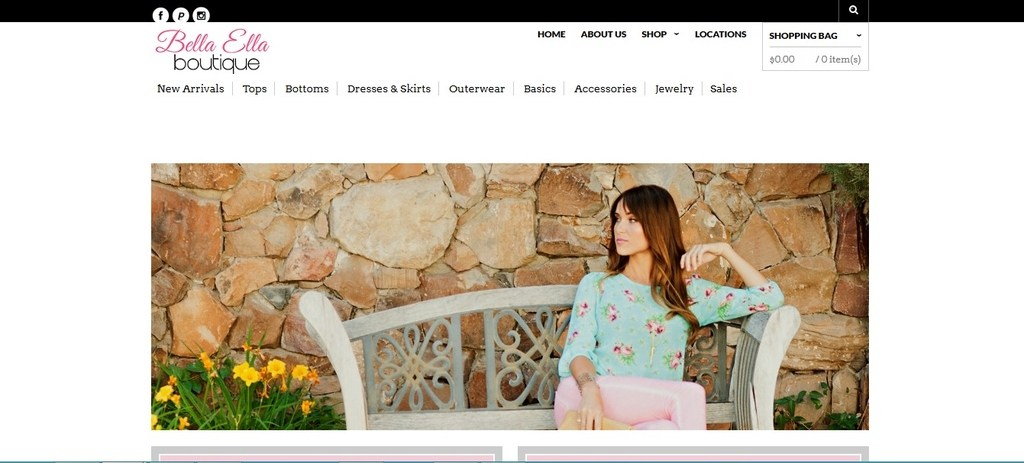 Fashionable boutique out of Utah