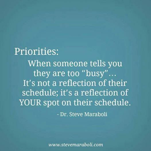 Quotes About Priorities And Love