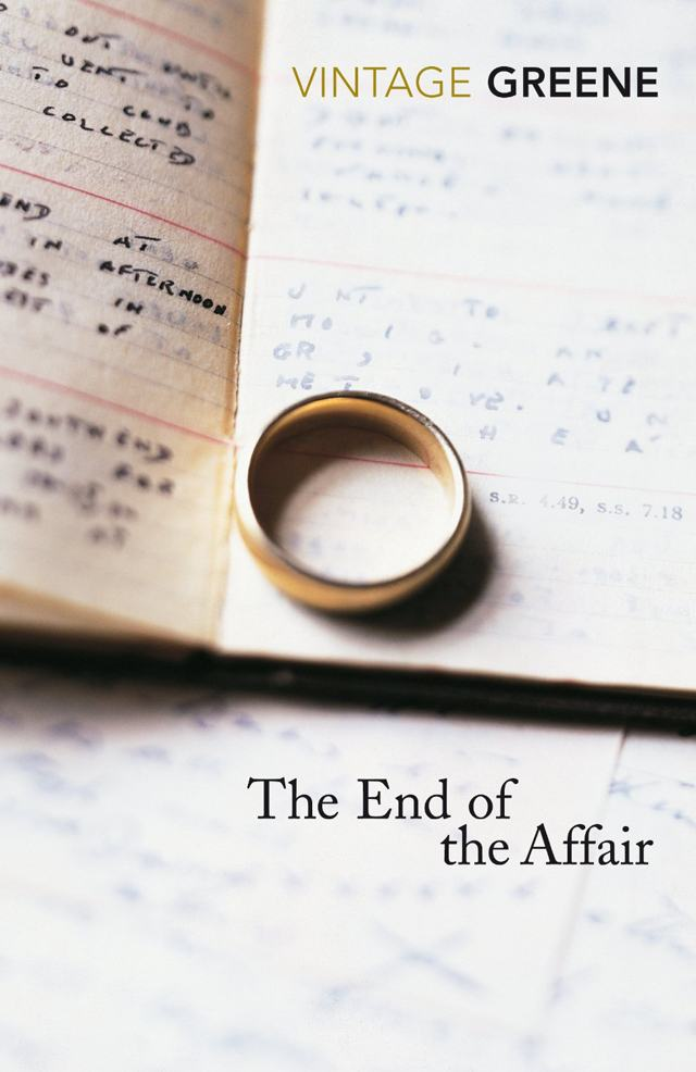 The End of the Affair by Graham Green (image credit Vintage) VIA Amazon.com