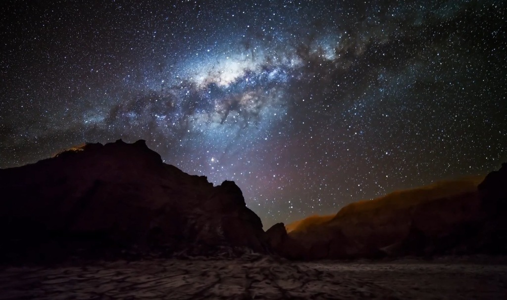 The night skies in Chile.