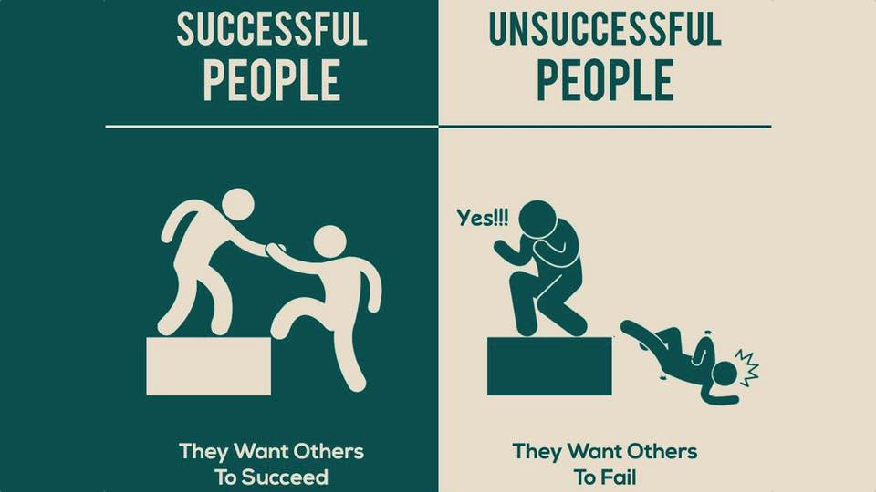 7 Key Differences Between Successful People And