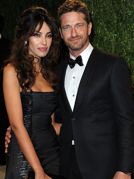 Gerard Butler On His New Girlfriend Im Very Lucky