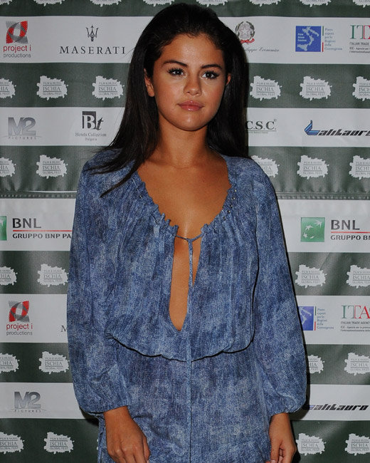 Selena Gomez attends Ischia Global Fest      Featuring: SELENA GOMEZ   Where: Ischia, Italy   When: 16 Jul 2014   Credit: WENN.com      **Not available for publication in Italy**