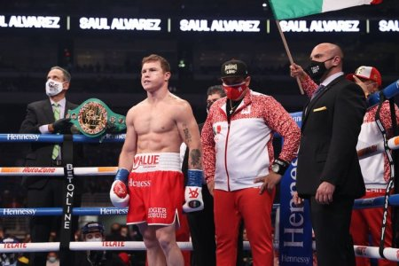 Canelo Vs. Billy Joe Saunders Set For AT&T Stadium: Sources - The Athletic
