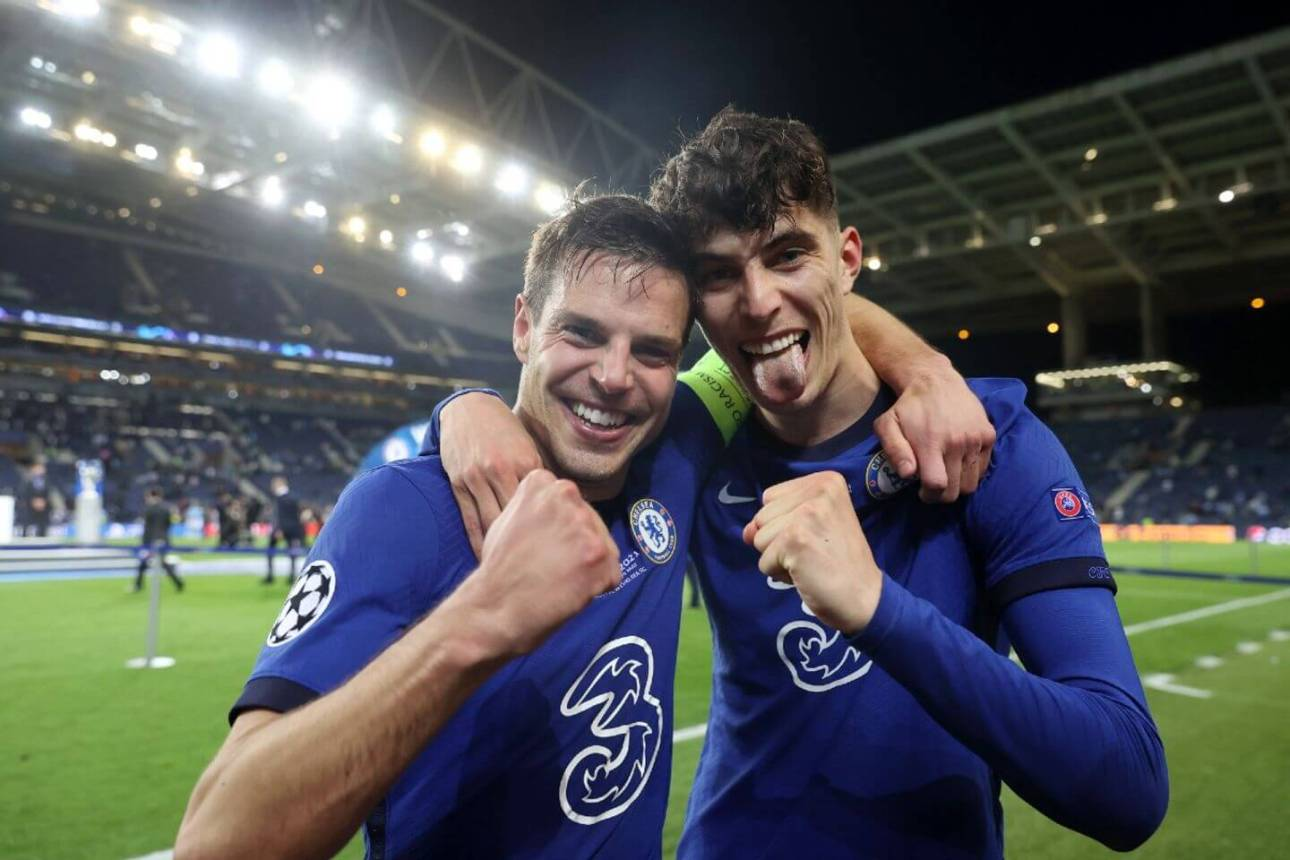 HAVERTZ'S GOAL BRING CHELSEA VICTORY OVER MAN CITY IN THE CHAMPIONS LEAGUE FINAL