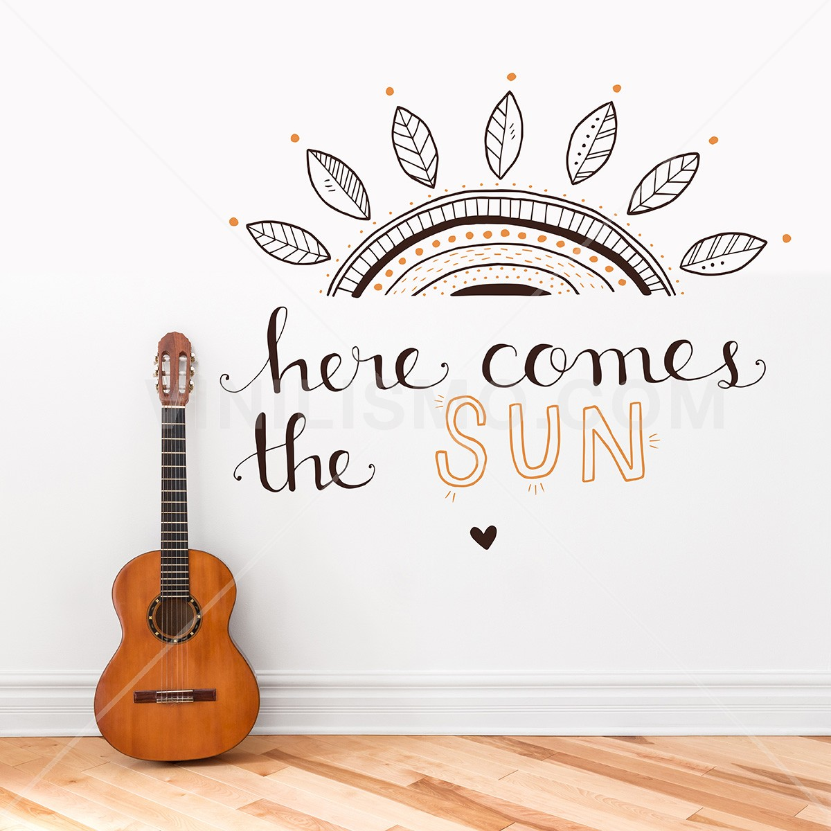 Wall Decal Here Comes The Sun