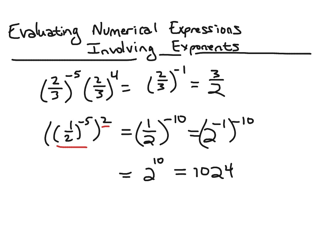 Evaluate The Expression Worksheet