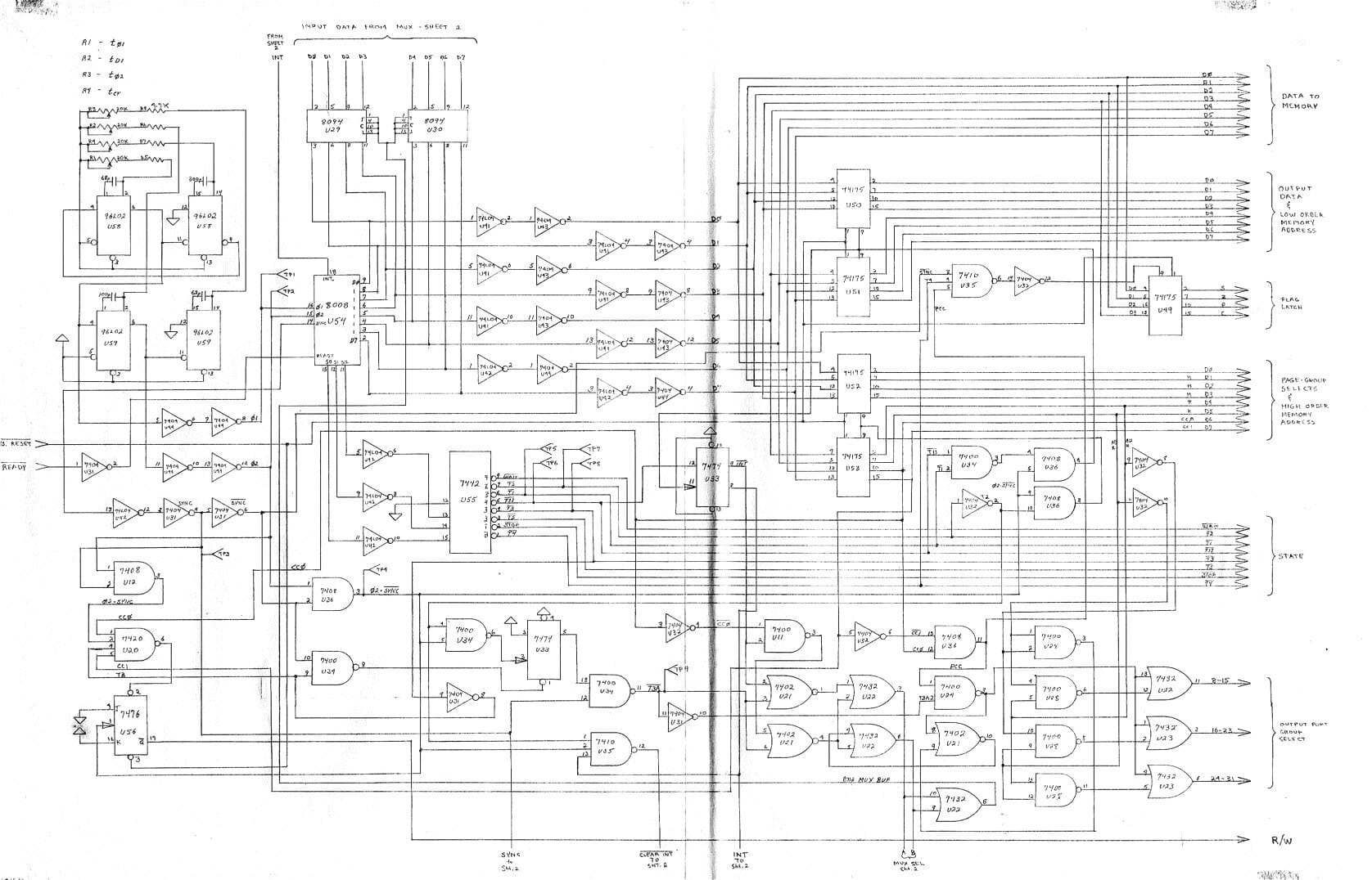 Homebrew Computer Schematics
