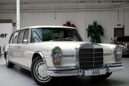 Mercedes-Benz 600 é oferecido por R$ 12 mi - Motor Show