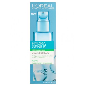 L'Oreal Paris Hydra Genius Daily Liquid Care, Normal to Oily Skin