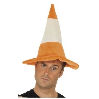 Traffic Cone Hat - Adults by B&S Trendz - Shop Online for Toys in ...
