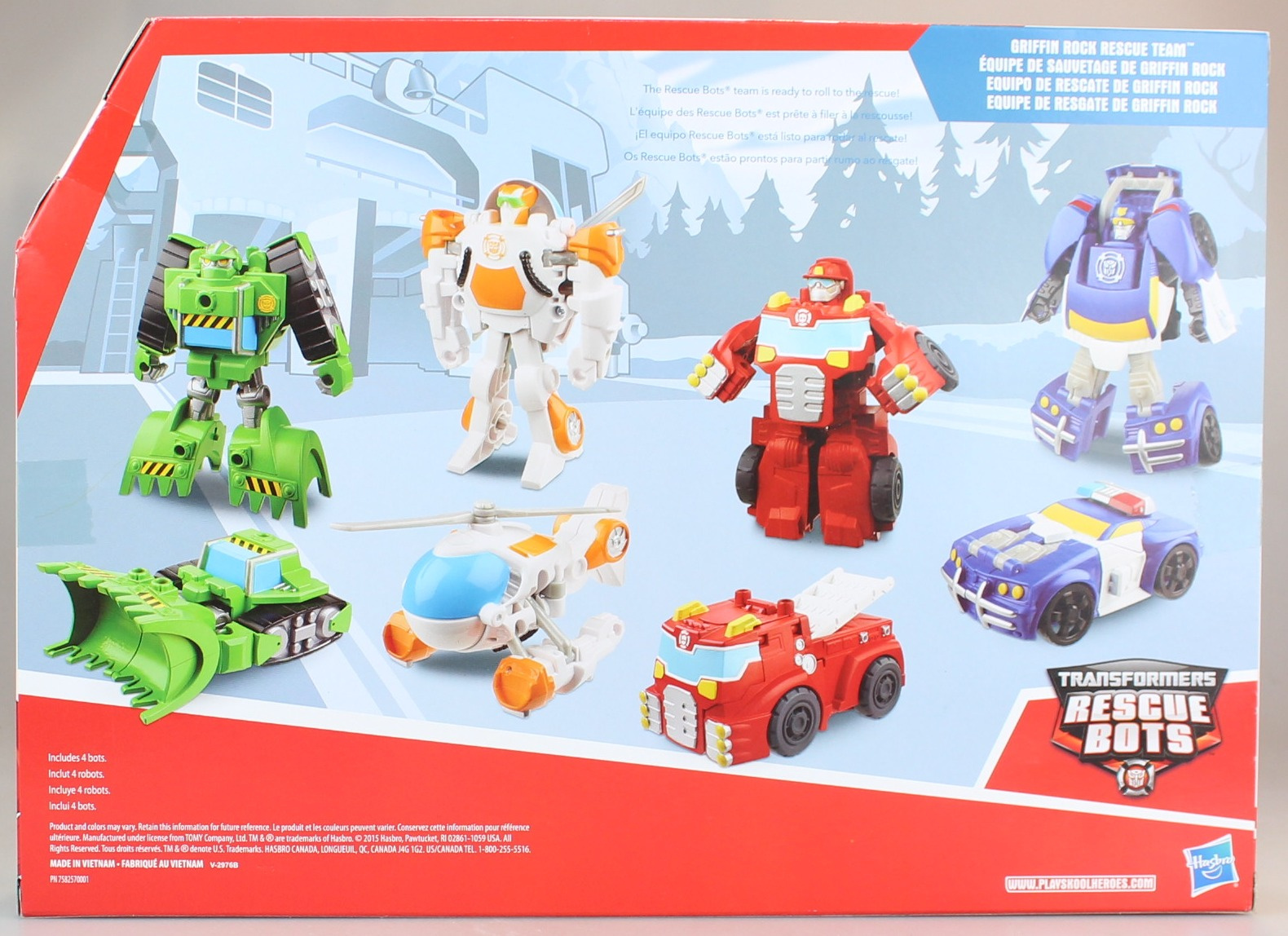 Playskool Heroes Transformers Rescue Bots Gryphon Rock Rescue Team By Transformers By Transformers Shop Online For Toys In Australia
