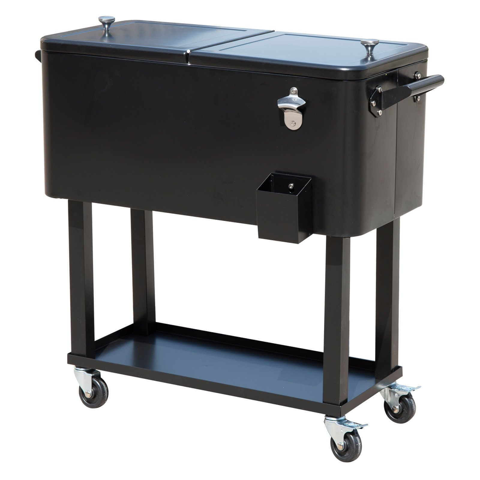 rolling ice chest portable patio