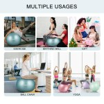 Galsports Pregnancy Birthing Ball Yoga Exercise Birth Ball Chair For Delivery Training Fitness Extra Thick Non Toxic Anti Burst Labour Ball With Quick Pump Certified By Sgs By Galsports Shop Online