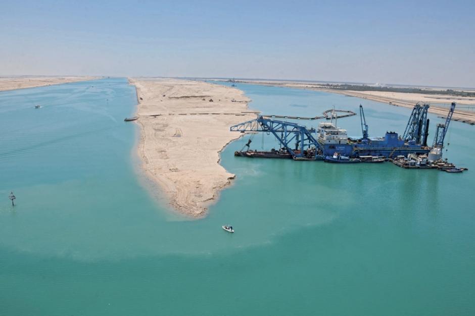 Le nouveau canal de Suez