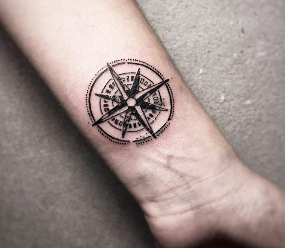 Compass Tattoo By Cana Arik Photo 28654
