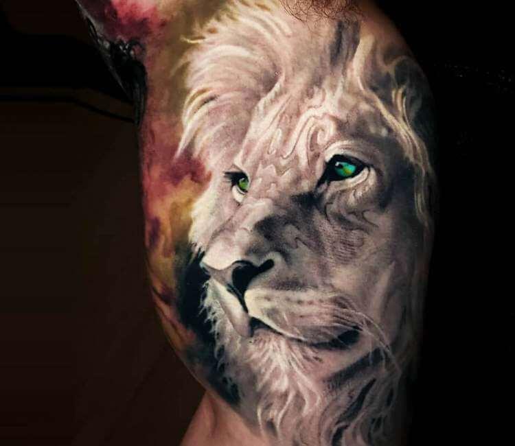 Lion Head Tattoo By Arlo Tattoos Post 26637
