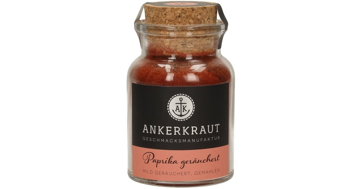 In 2020 they have racked up sales of herbs, spices and teas running. Ankerkraut Paprika geräuchert, gemahlen, 80 g - Piccantino