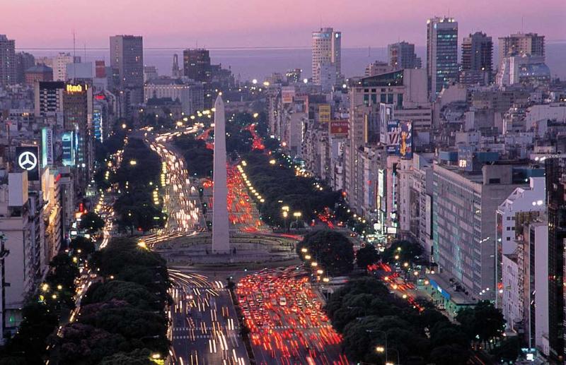 9 De La Route Plus Monde La Large Argentine Aires Julio Du Buenos