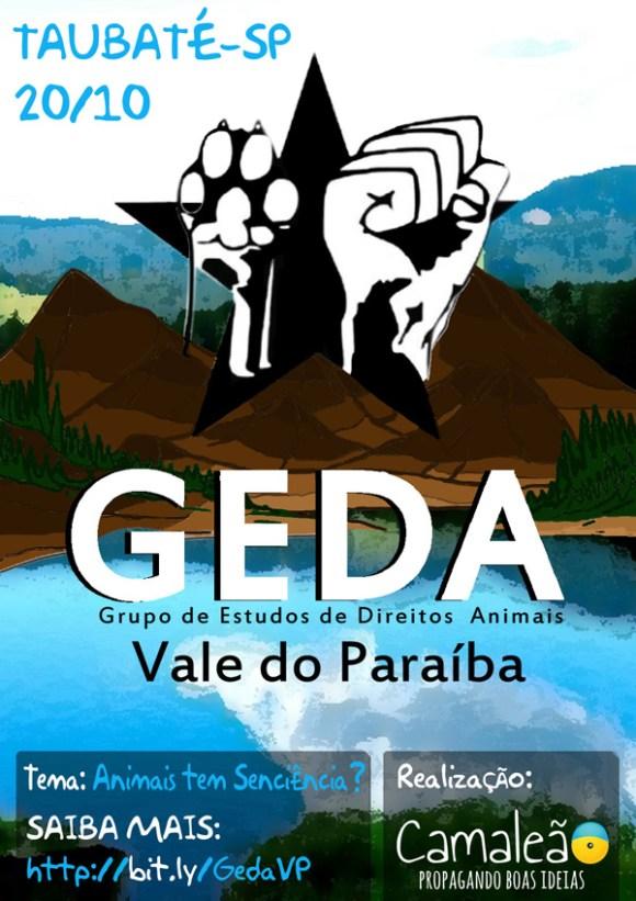 geda-grupo-estudos-direitos-animais-vale-paraíba-taubaté-coletivo-camaleão-veganismo