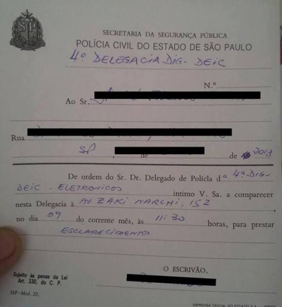Intimação-censura-brasil-Buika-delegacia-crimes-digitais-criminalização-movimentos-sociais