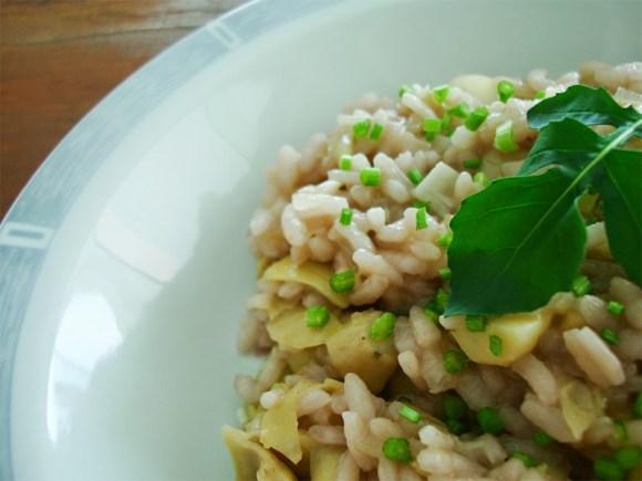 risotto-de-alcachofras-receitas-vegetarianas-vegetarianismo-culinaria-arroz