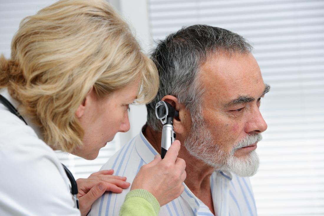 [the doctor will examine the ears when a patient has vertigo ]