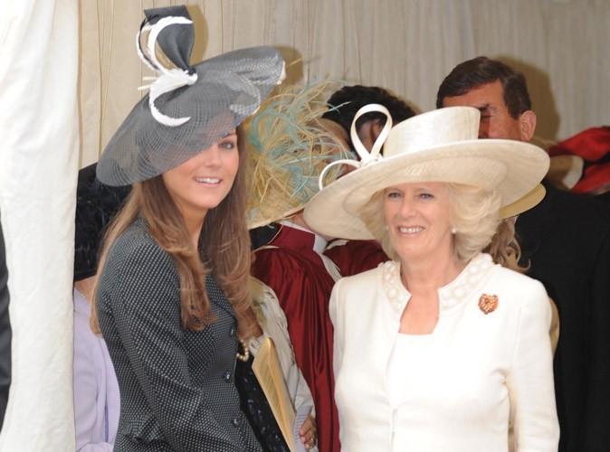 Camilla Parker Bowles : Elle a complètement sur sa future belle-fille, Kate Middleton !