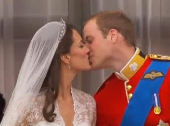 Vidéo : Le baiser de Kate et William !