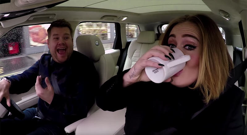 James Corden And Adeles Full Version Of Carpool Karaoke Is Great image