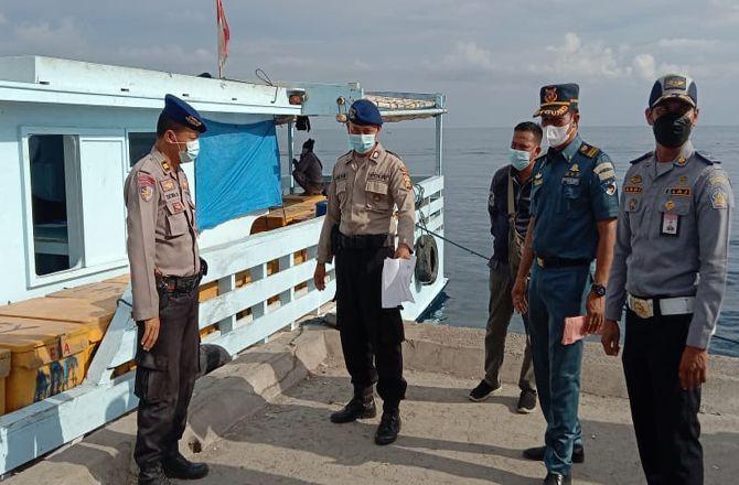 Covid di Madura Melonjak, Satgas Perketat Pelabuhan Rakyat di Buleleng