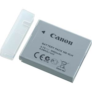 CANON NB-6LH - Ersatzakku für Canon Digitalkameras canon powershot sx530 hs Canon PowerShot SX530 HS (Certified Refurbished) CANON NB 6LH 01